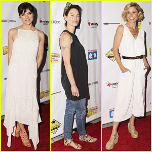 Selma Blair, Lena Headey & More Step Out For Milk + Bookies Story Time Celebration!
