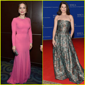Sophia Bush & Neve Campbell Go Glam for White House Correspondents' Dinner 2016