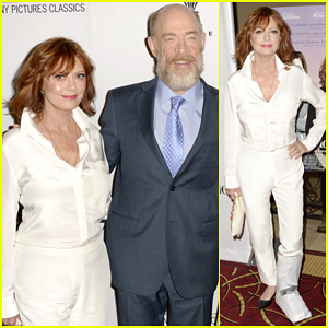 Susan Sarandon Teams with J.K. Simmons At 'The Meddler' Premiere - Watch Trailer!