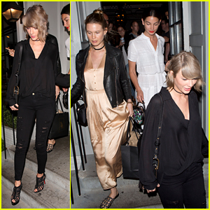 Taylor Swift Has Girls' Night Out With Lily Aldridge & Behati Prinsloo