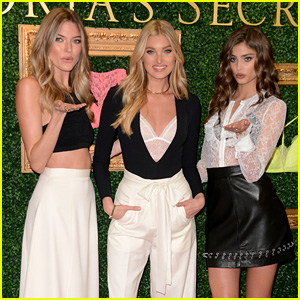Angels Martha Hunt, Elsa Hosk, & Taylor Hill Reveal New Victoria's Secret Collection