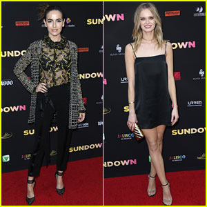 Camilla Belle & Sara Paxton Premiere 'Sundown' In Hollywood