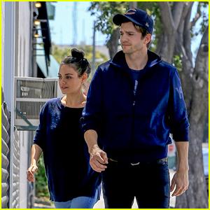 Ashton Kutcher & Mila Kunis Couple Up Ahead of Billboard Music Awards