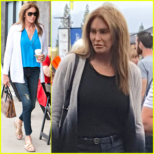Caitlyn Jenner Runs Some Errands on Memorial Day
