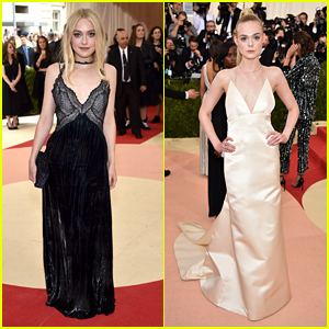 Dakota & Elle Fanning Are Sister Act at Met Gala 2016