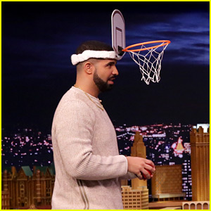 Drake Plays a Game of 'Faceketball' with Jimmy Fallon! (Video)