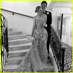 Elle Fanning Recreates Senior Prom Night in Cannes
