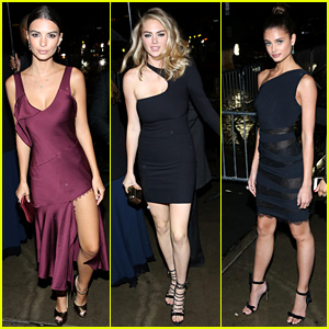 Emily Ratajkowski & Kate Upton Party After Met Gala 2016