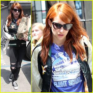 Emma Roberts Grabs Groceries After Splitting with Evan Peters