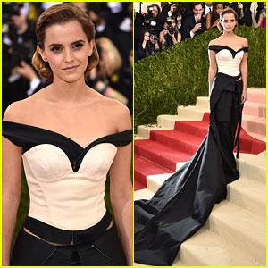 Emma Watson Stuns in Organic Gown at MET Gala 2016