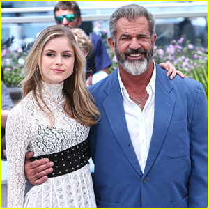 Mel Gibson Dances With Erin Moriarty at Cannes Film Festival 2016