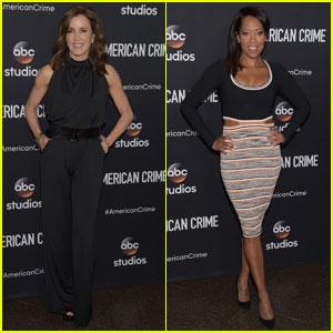 Felicity Huffman & Regina King Premiere 'American Crime'