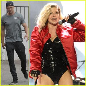 Fergie & Josh Duhamel's Son Axl Loves Trucks & Swords