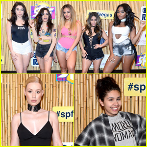 Fifth Harmony & Iggy Azalea Perform at a Pool Party in Las Vegas!