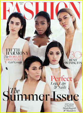 Fifth Harmony Graces 'Fashion' Magazine's Summer 2016 Cover