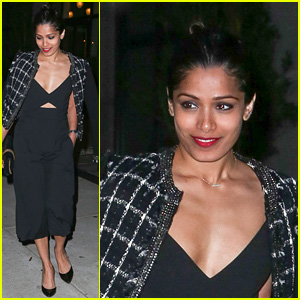 Freida Pinto Reveals Sneak Peek of Tory Burch Met Gala 2016 Look!