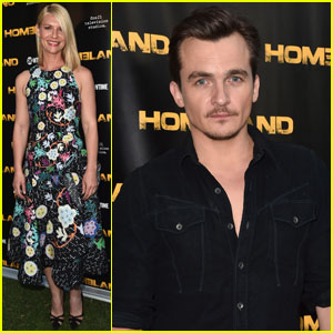 Claire Danes & Rupert Friend Attend 'Homeland' Emmy Event