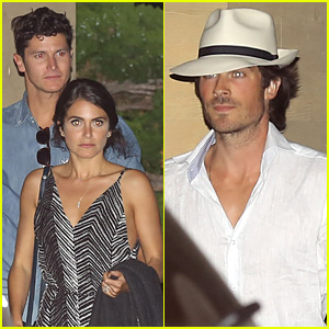Ian Somerhalder Helps Nikki Reed Celebrate Her Birthday a Little Early!