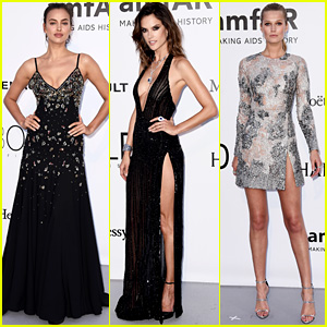 Irina Shayk & Alessandra Ambrosio Glam Up for Cannes amfAR Gala 2016