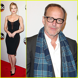 Jennifer Morrison & Clark Gregg Celebrate Renewals at ABC Upfronts
