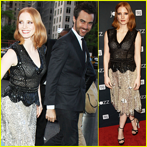 Jessica Chastain & Boyfriend Have Jazz Night Out At Lincoln Center Gala 2016!