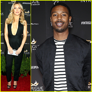 Kate Hudson & Michael B. Jordan Hit Up Intrigue Club Opening