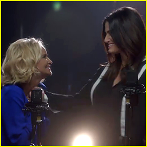 Kristin Chenoweth & Idina Menzel Reunite for 'Wicked' Duet 12 Years Later - Watch Now!