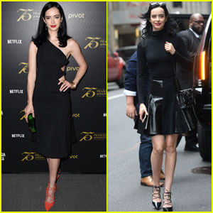 Krysten Ritter Talks 'Jessica Jones' Season Two in NYC