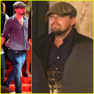 Leonardo DiCaprio Checks Out the Party Scene in Cannes
