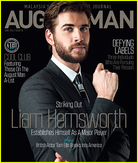 Liam Hemsworth Covers 'August Man' Magazine's June 2016 Issue (Exclusive)