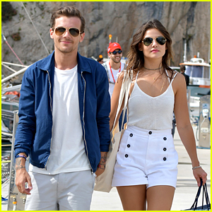 Louis Tomlinson & Danielle Campbell Couple Up in Monaco