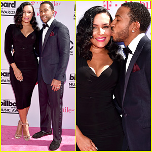 Ludacris Plants Kiss on Wife Eudoxie at Billboard Music Awards 2016!
