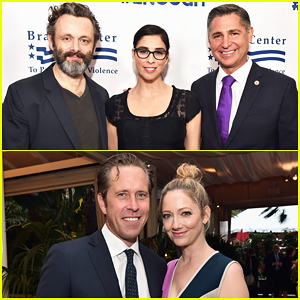 Michael Sheen & Sarah Silverman Help Honor Gun Violence Prevention Leaders At Brady Bear Gala!