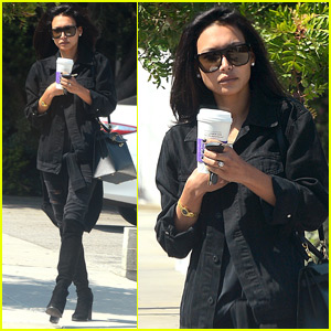 Naya Rivera Makes a Hair Change at the Salon