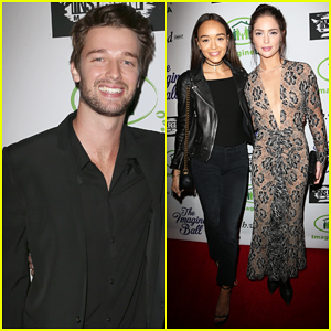 Patrick Schwarzenegger Gets Charitable At Imagine Ball Benefit Concert 2016!