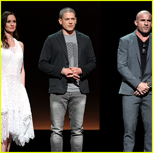 Wentworth Miller Debuts 'Prison Break' Reboot Trailer at Fox Upfront 2016!