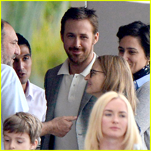Ryan Gosling & 'Nice Guys' Co-Stars Assemble in Cannes