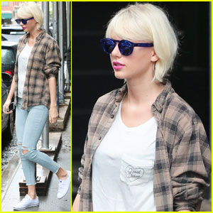 Taylor Swift Runs Last-Minute Met Ball Errands in NYC