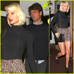 Taylor Swift Shows Off Legs for Days at Dinner with Austin