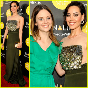 Aubrey Plaza & Others Attend NALIP Latino Media Awards 2016