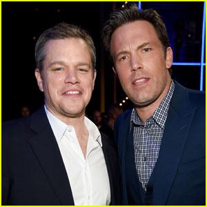 Ben Affleck Shares Photo Collage of Matt Damon for National Best Friends Day 2016!