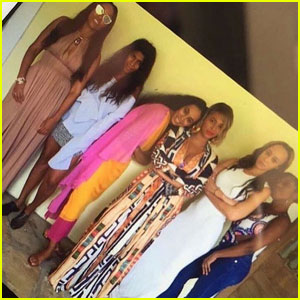 Beyonce Celebrates Solange's 30th Birthday in New Mexico
