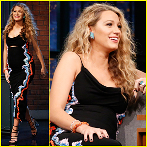 Blake Lively Jokes Baby James Will Be Babysitter!