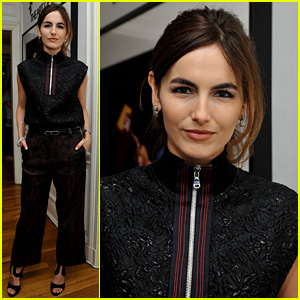 Camilla Belle Hosts 'Looking at the Stars' Event in Los Angeles
