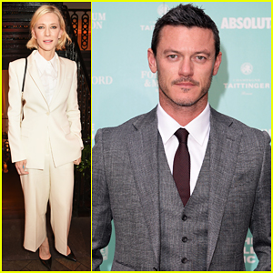 Cate Blanchett & Luke Evans Help Raise £500,000 At Old Vic Summer Gala!