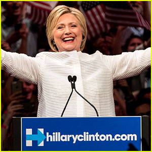 Celebs React to Hillary Clinton's History Making Moment