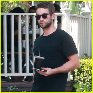 Chace Crawford Grabs Lunch After Attending The Cure Concert