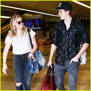 Chloe Moretz & Brooklyn Beckham Head to NYC After LA Weekend