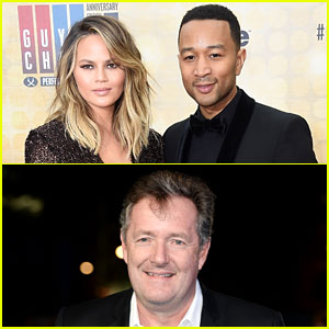 Chrissy Teigen & John Legend Get Into Twitter War with Piers Morgan Over His Muhammad Ali Comment
