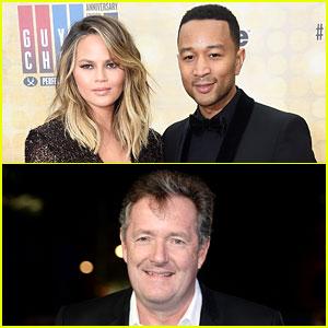 Chrissy Teigen & John Legend Get Into Twitter War with Piers Morgan Over His Muhammad Ali Comment